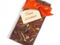 шоколад с лого