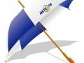 зонт большой с лого