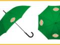 зонт трость с лого